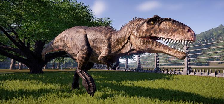 Dinosaur Model Mod for Jurassic World Evolution