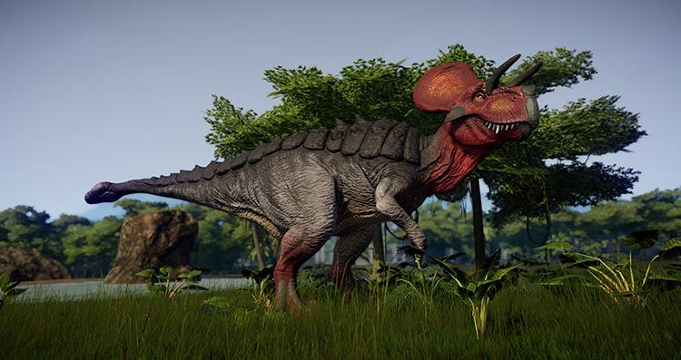 Dinosaur Model and Texture Edits JWE Mod
