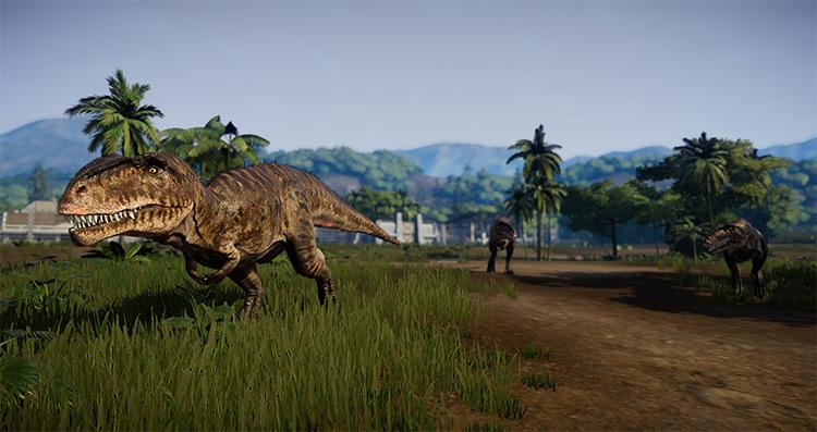Dinosaurs Behavior and Stats Overhaul JWE Mod