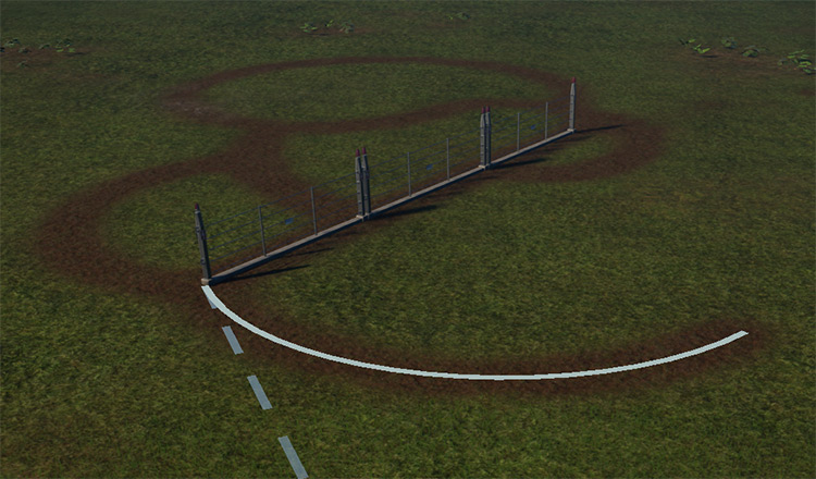 Invisible Fences Jurassic World: Evolution Mod