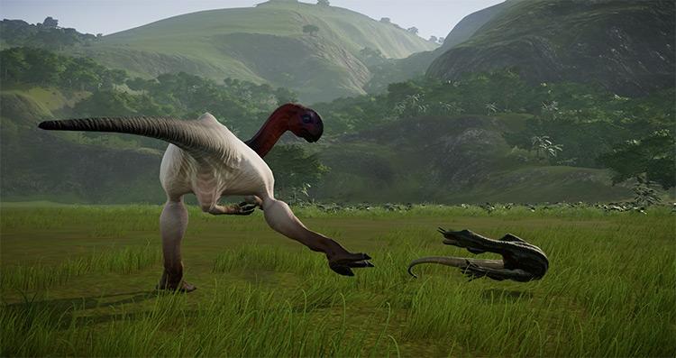 Gigantoraptor Species Mod for JWE