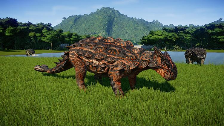 Ankylosaurus Paleo-accurate Edits JWE Mod