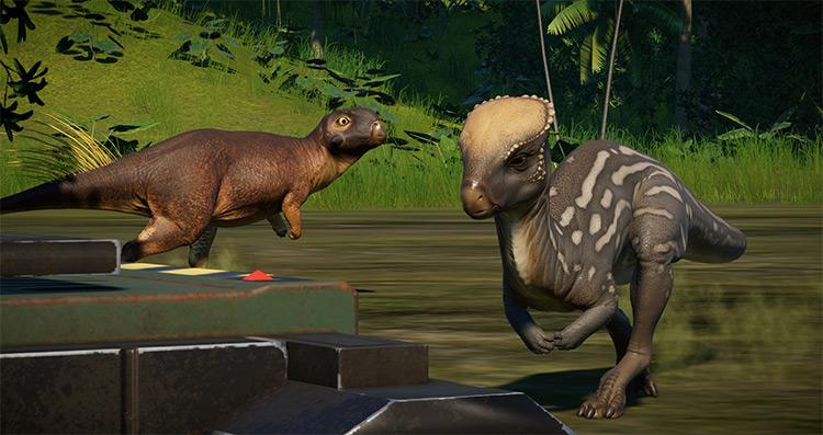Psittacosaurus Species Mod for JWE