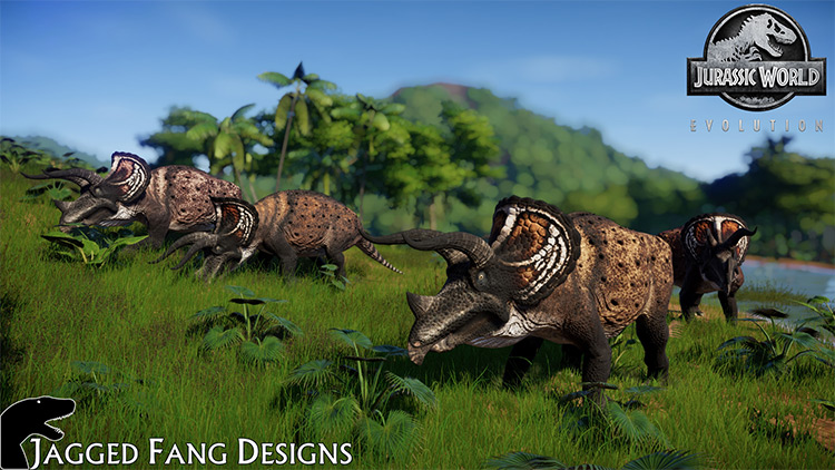 JFD Triceratops Prorsus Mod for JWE