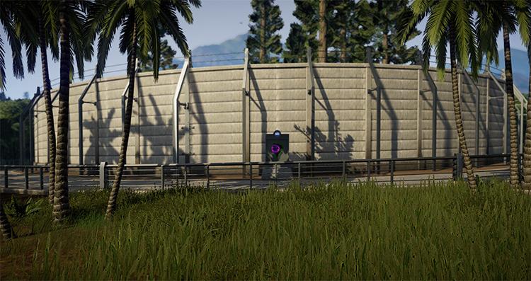 Better Looking JW Fences Jurassic World: Evolution Mod