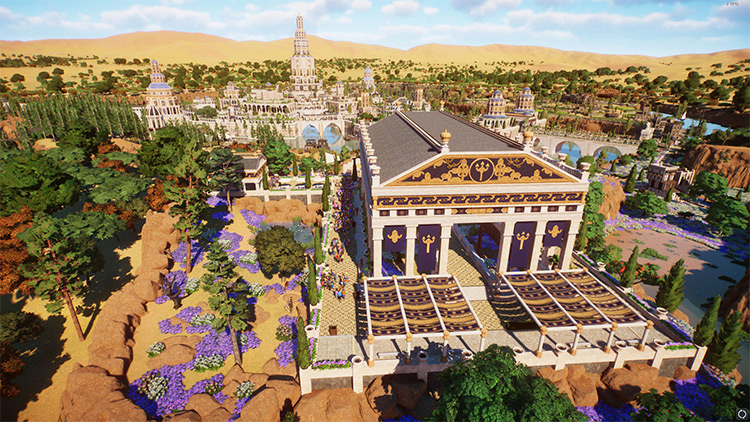 Atlantis Zoo Mod for Planet Zoo