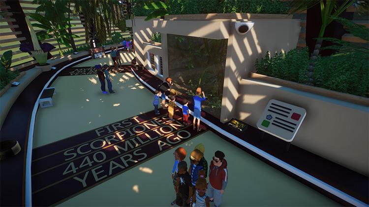 Nautilus Education Center Planet Zoo Mod
