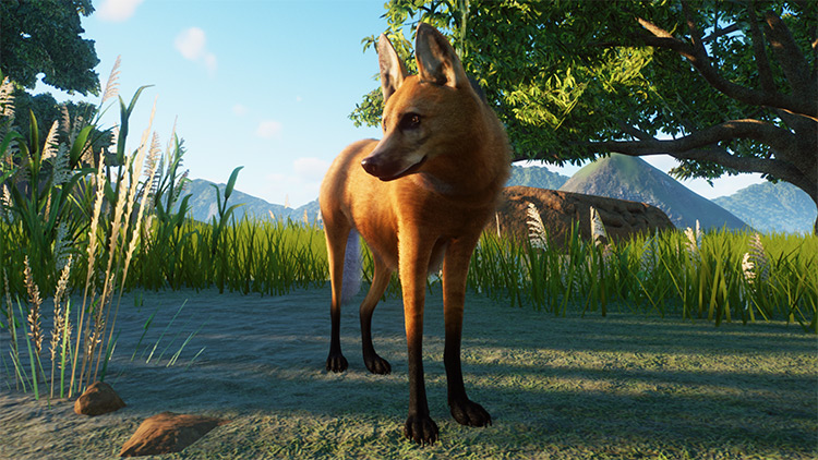Maned Wolf Mod for Planet Zoo