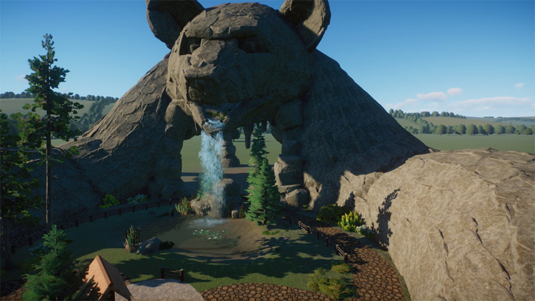 Bear Cave Entrance Mod for Planet Zoo