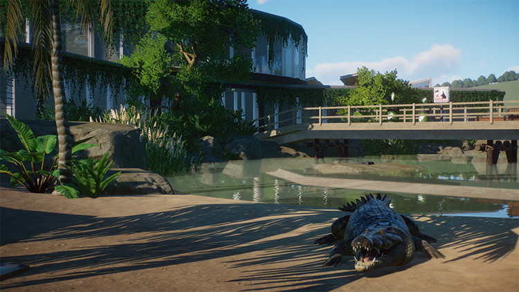 Tropical Reptile House Planet Zoo Mod