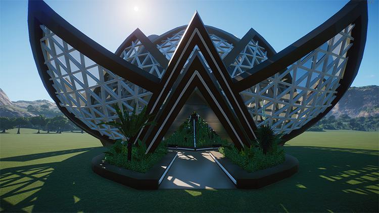 Restaurant Lotus - Planet Zoo Mod