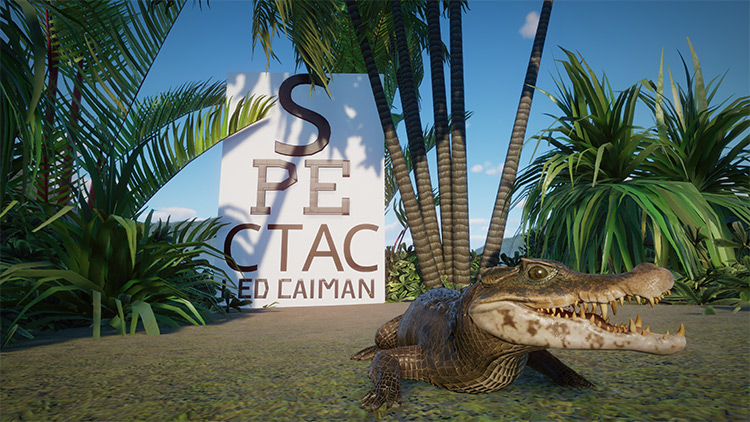 Spectacled Caiman Mod for Planet Zoo