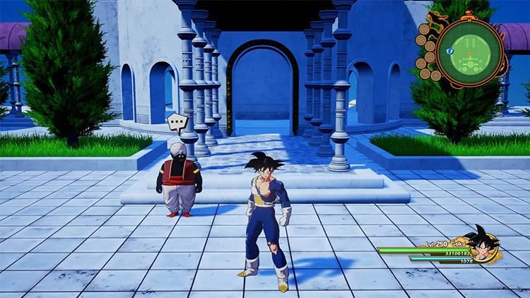 Outfits for Endgame Goku Mod for DBZ: Kakarot