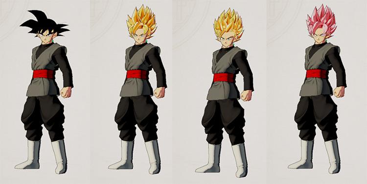 Goku Black Skin DBZ: Kakarot Mod