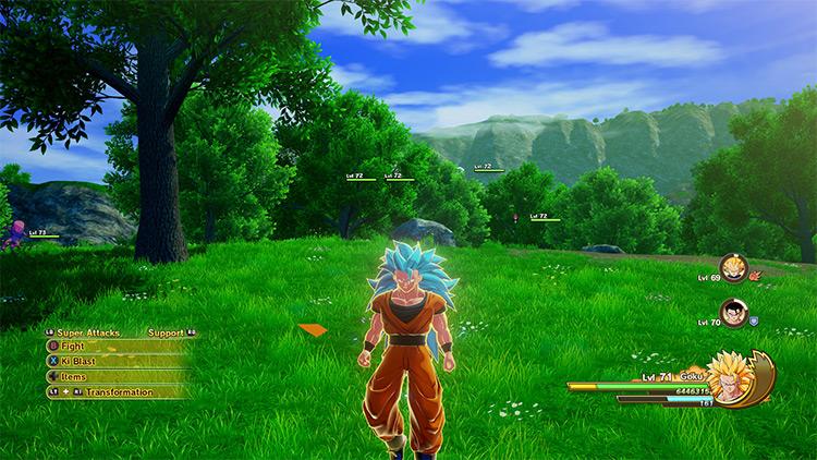 Super Saiyan Blue Goku Dragon Ball Z: Kakarot Mod