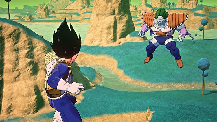 Anime Colors ReShade Mod for Dragon Ball Z: Kakarot