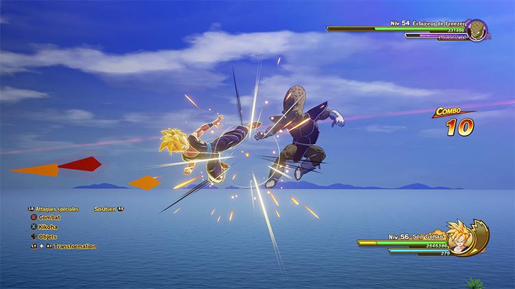 Battle HUD Cleaner Mod for DBZ: Kakarot