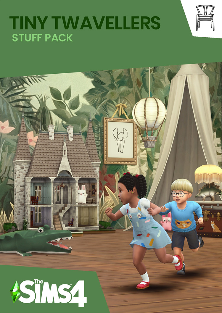 Tiny Twavellers Pack - Sims 4 CC