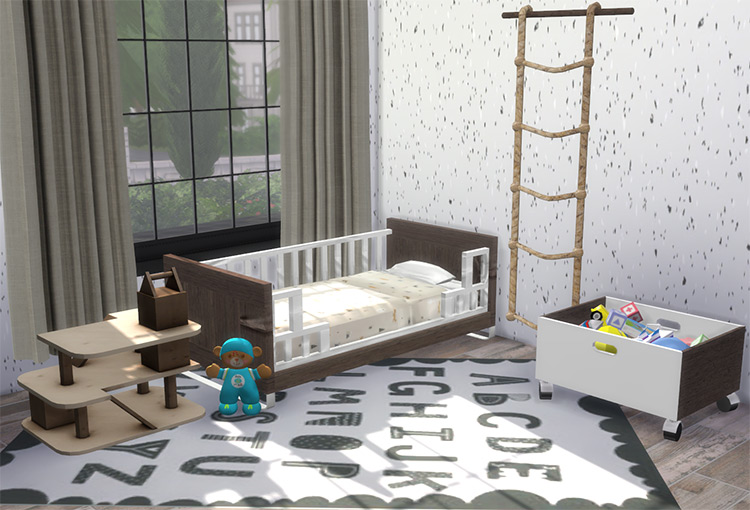 LUNO Toddler Room for Sims 4