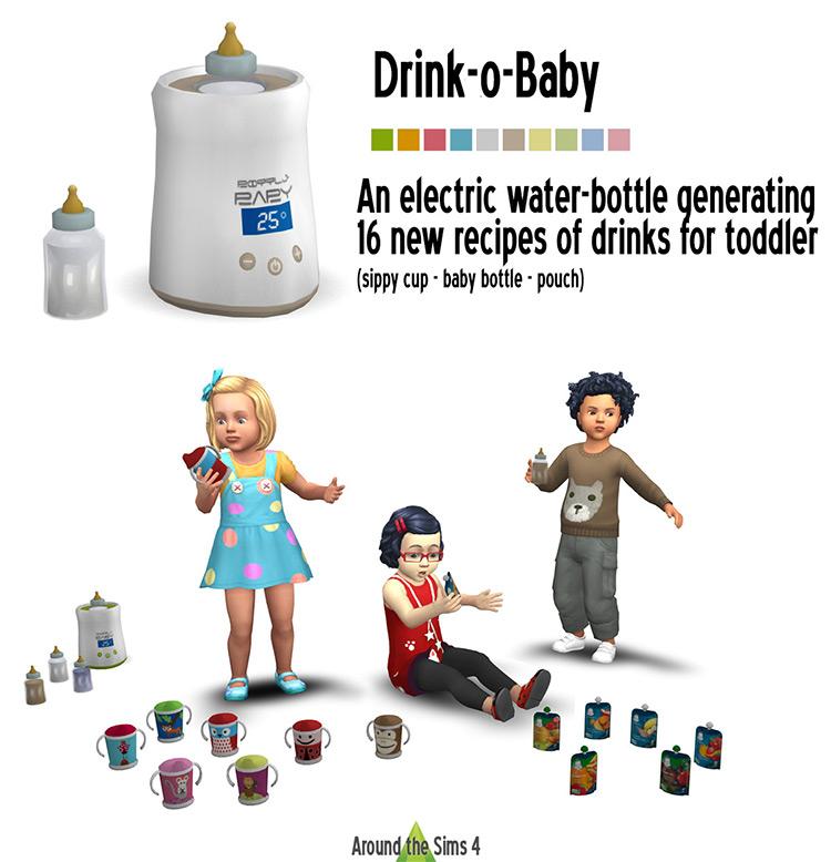 Drink-O-Baby Item - TS4 CC