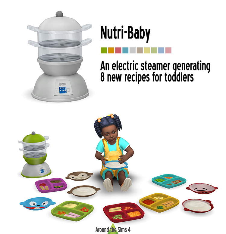 Nutri-Baby item for The Sims 4