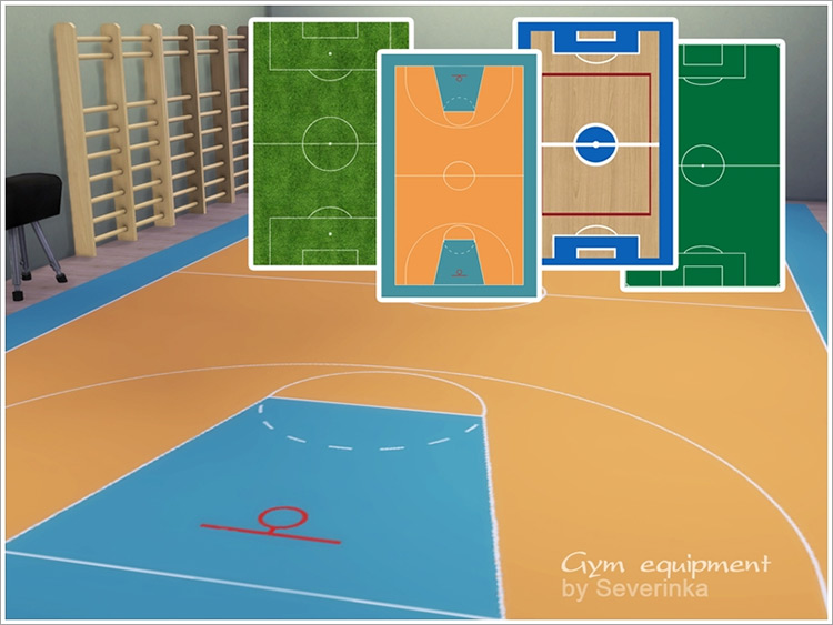 Sports Field Sims 4 CC