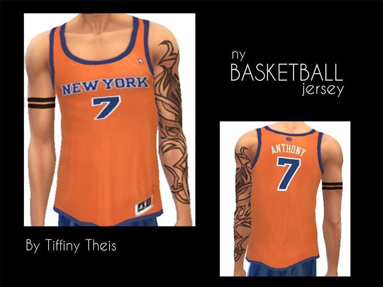 Retro Basketball Jerseys TS4 CC