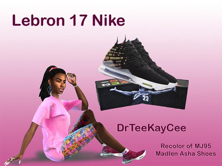 LeBron Nikes Sims 4 CC