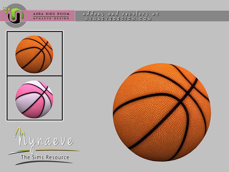 Aura Basketball for Sims 4