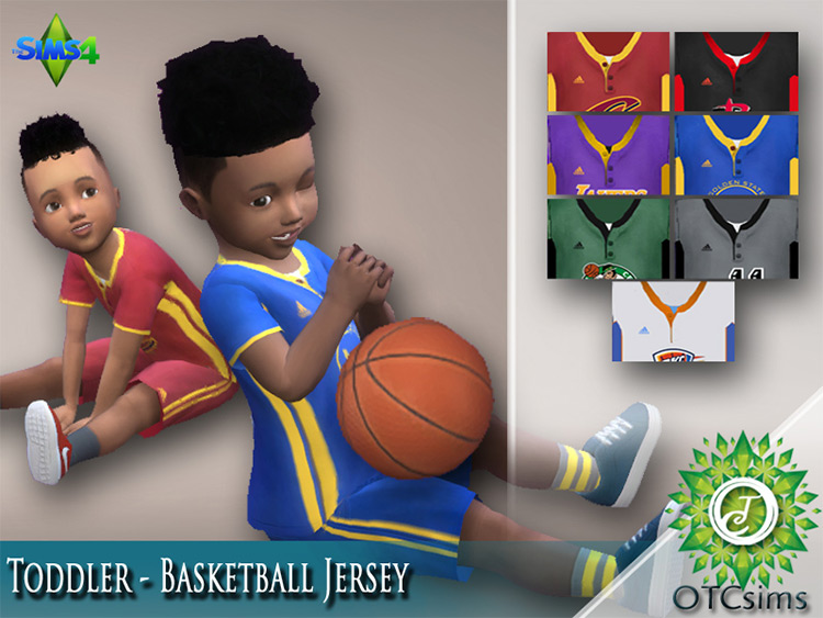 Toddler Basketball Outfit Sims 4 CC