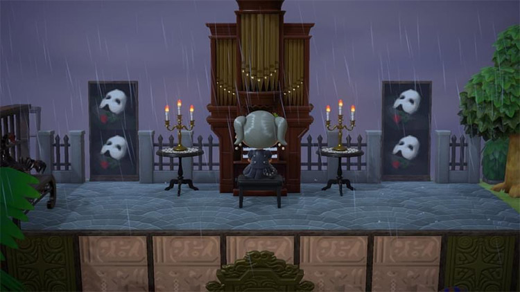 Phantom of the Opera stage in ACNH