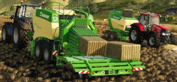Straw Addon Baler Mod for Farming Simulator 19