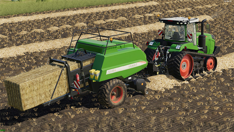 Hesston Big Balers Mod for FS19