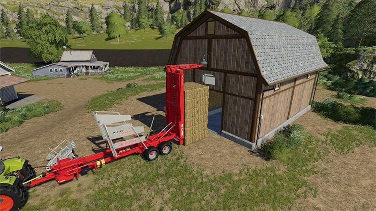 Bale Storage Barns FS19 Mod