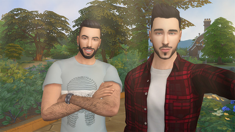 [Pose] Friends Selfie Pose Pack – Set 1 by Veiga Sims TS4 CC