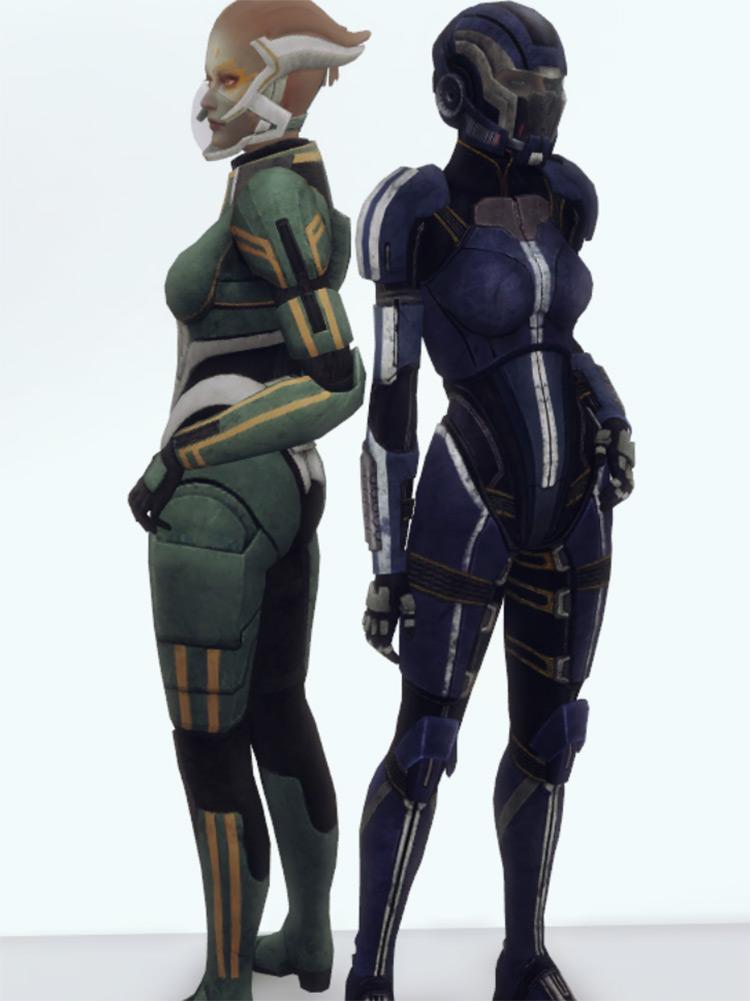 Space Armor by plazasims Sims 4 CC