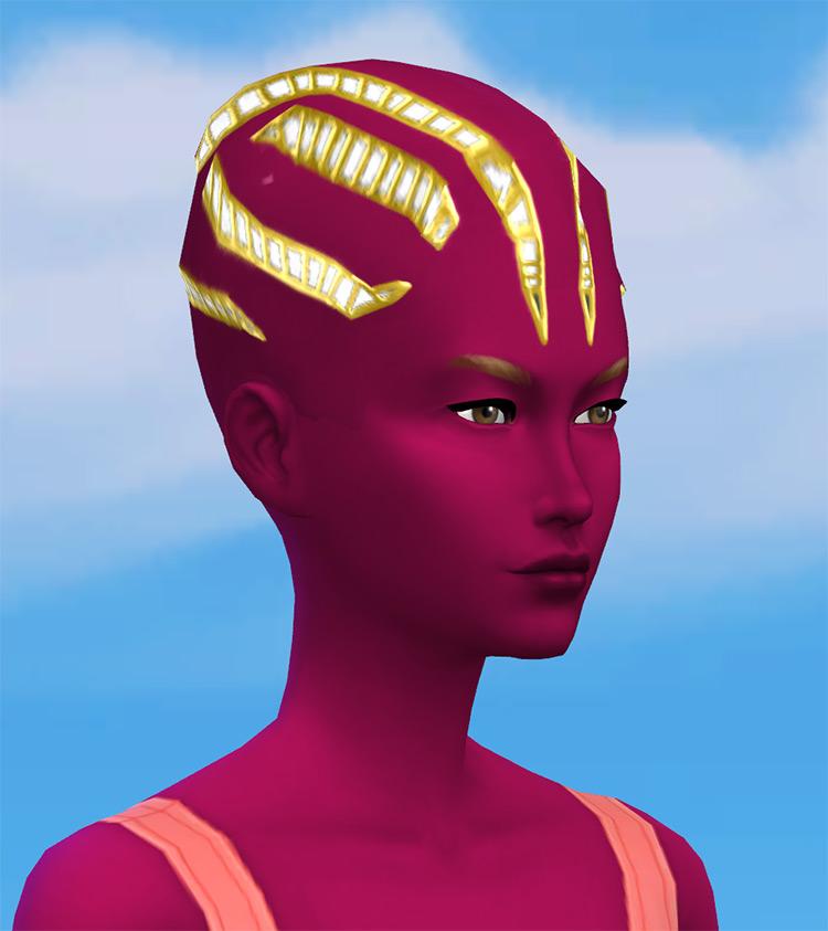 Strange Alien Cyber-Head by Zaneida & The Sims 4 screenshot