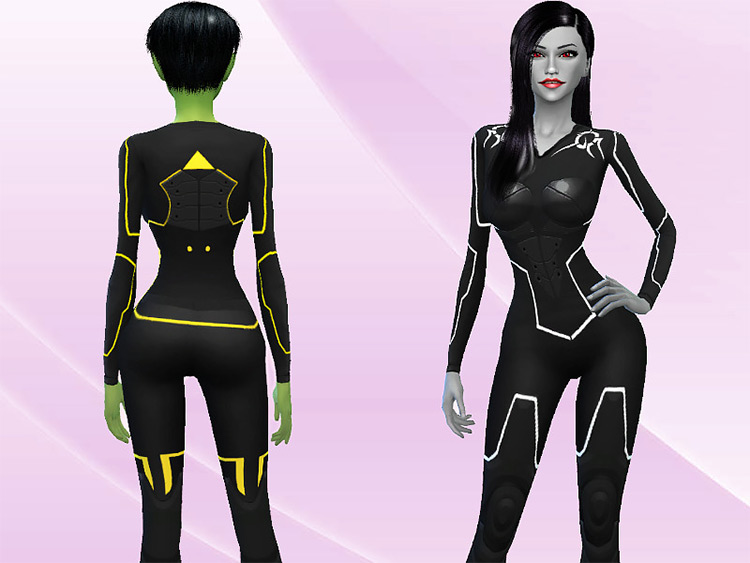Future Suit by Genius for Sims 4