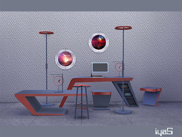Futuristic Set by solariya for Sims 4