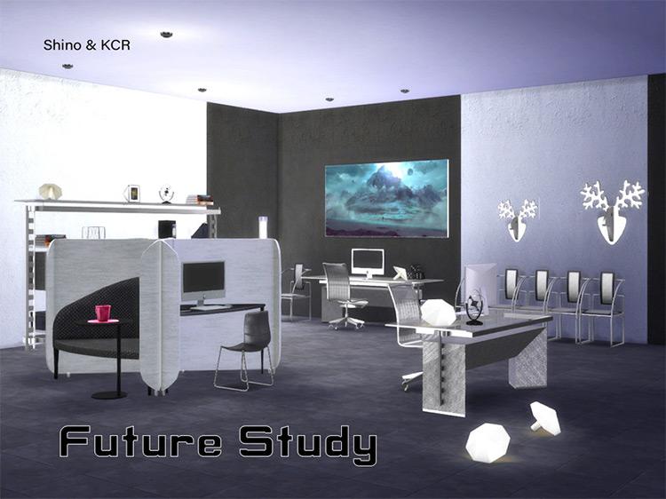 Study Future by ShinoKCR Sims 4 CC