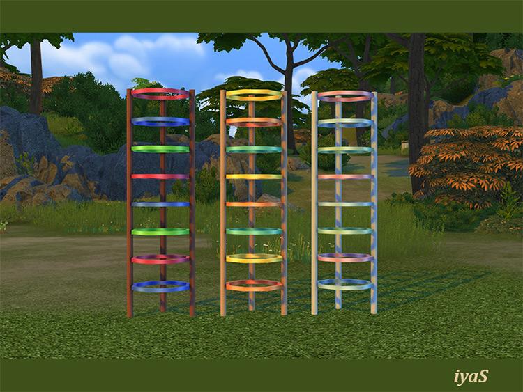 Happy Childhood Jungle Gym Attachment TS4 CC