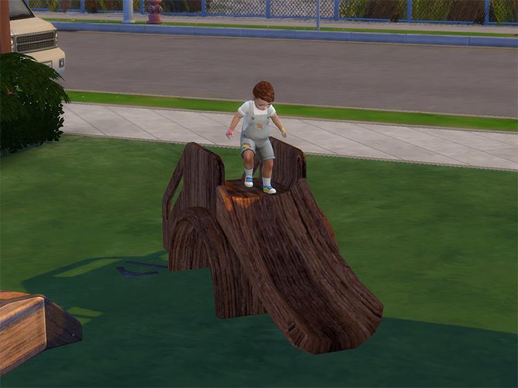 Toddler Slide for The Sims 4