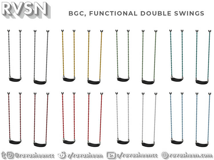 Classic Double Swing - TS4 CC