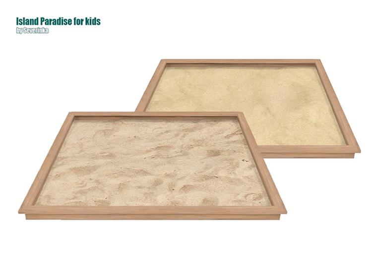 Kids Sandbox CC for Sims 4