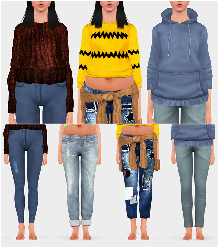 Maternity Set for Sims 4