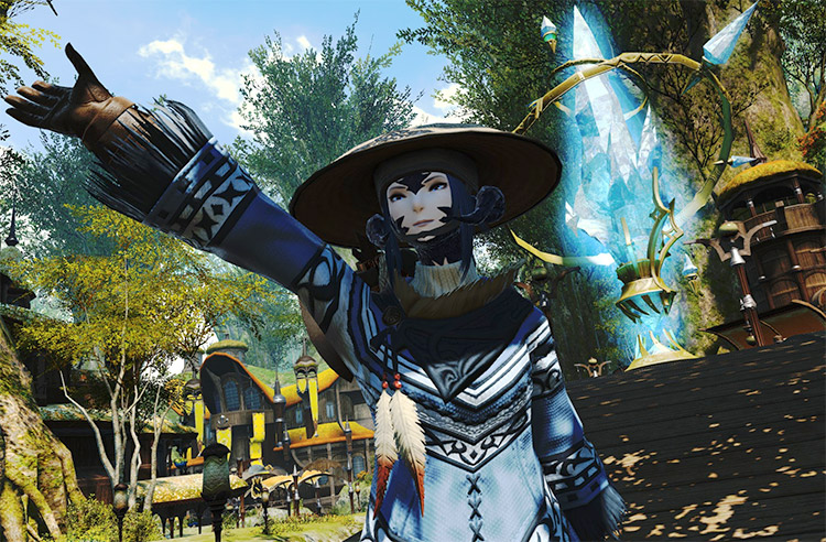 Crafter/Gatherer Mentor Character in FFXIV
