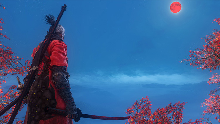 Oni and the Blood Moon Mod for Sekiro: Shadows Die Twice