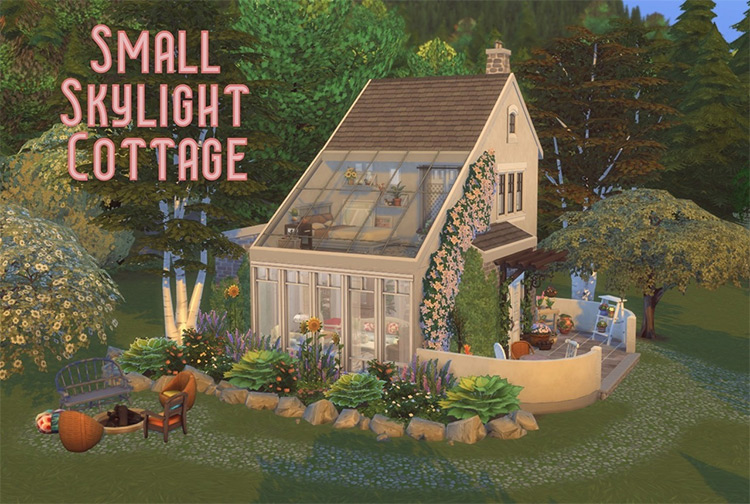 Small Skylight Cottage TS4
