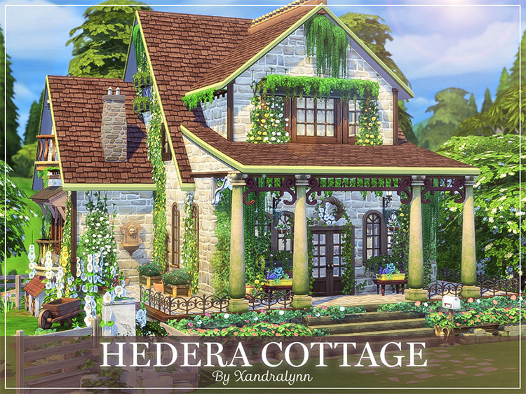 Hedera Cottage - Sims 4 Lot