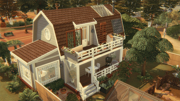 Small Home Clover for The Sims 4